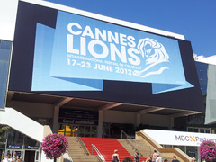 Bill Clinton speaking at Cannes Lions 2012